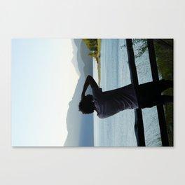 Duncan Lake BC Canvas Print