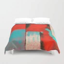 The Corners of My Mind, Abstract Painting Duvet Cover