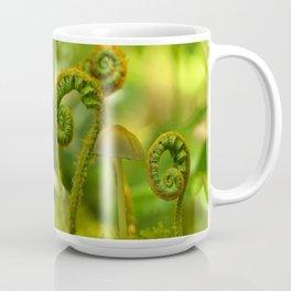 Mushroom In The Ferns... Coffee Mug