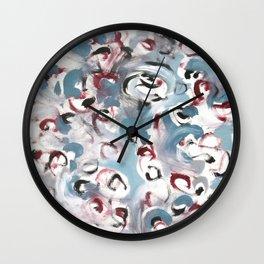 Blizzard Wall Clock