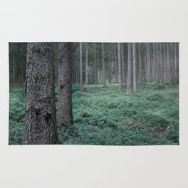 Mist in the Forest Rug