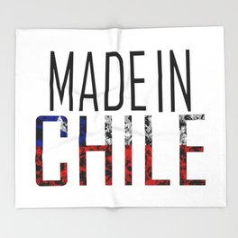Made In Chile Throw Blanket