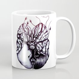 Without glucose, the brain can function for 2 min. Without oxygen, the brain can function for 8 min. Coffee Mug