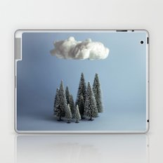 A cloud over the forest Laptop & iPad Skin