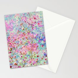 Floral on Floral Stationery Cards