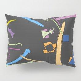 Experimental abstract art nature mathematics theory order digital drawing C&F_003 Pillow Sham