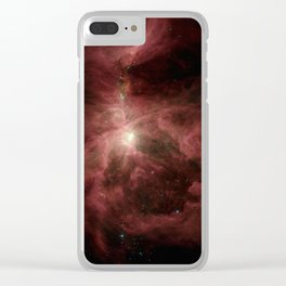 ignition of the hunter's blade | space #03 Clear iPhone Case