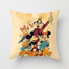 Fun In Colors Throw Pillow