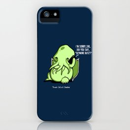 Prank Call of Cthulhu iPhone Case