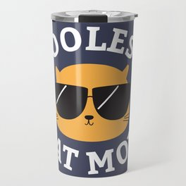 Coolest Cat Mom Travel Mug