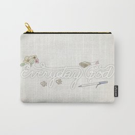 Everyday God (flowers version) Carry-All Pouch