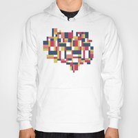 matisse Hoodies featuring Map Matisse #1 by Project M