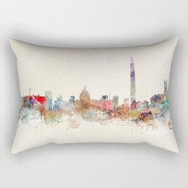 washington dc skyline Rectangular Pillow