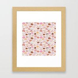 Mmm... Donuts! Framed Art Print