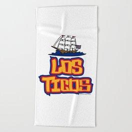 Costa Rica Los Ticos ~Group E~ Beach Towel