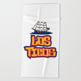 Costa Rica Los Ticos ~Group E~ Beach Towel