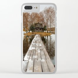 SMALL COTTAGE Clear iPhone Case