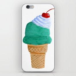 Ice Cream Cone iPhone Skin