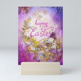 Purple Easter Mini Art Print