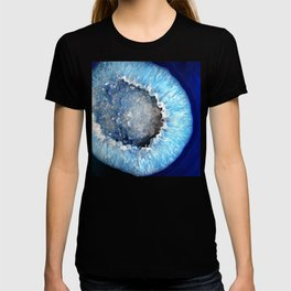 Blue Crystal Geode T-shirt