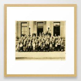 Kiwanis Day 1936 Framed Art Print