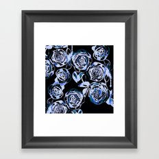 Midnight Rose Framed Art Print