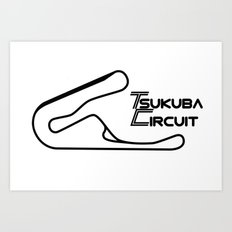 RennSport Shrine Series: Tsukuba Edition Art Print