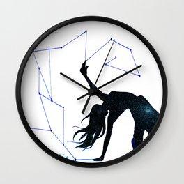 Space dance 2  Wall Clock