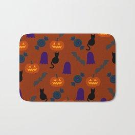Halloween Pattern OR Bath Mat