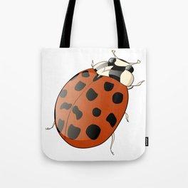 Harmonia axyridus - Asian Ladybeetle Tote Bag