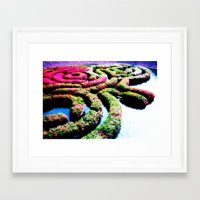 labyrinth Framed Art Prints featuring Labyrinth by Penny Giforos