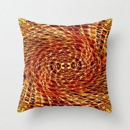 Honey Bee Hive Throw Pillow