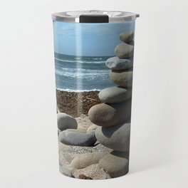 Beach Tower Travel Mug