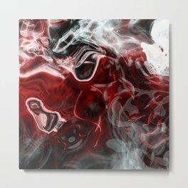 Smoky whisper 3A Metal Print