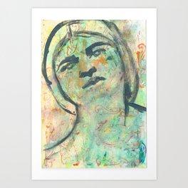 Tina friend of Frida(Khalo) Art Print