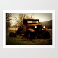 ford Art Prints featuring Ford by Urban Frame Photography