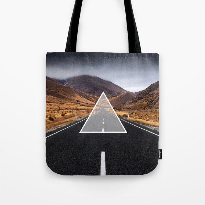 Route Triangle Tote Bag
