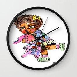 Crazy Baby Pop Wall Clock