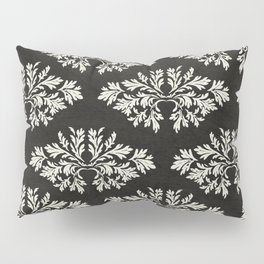 Foliage Black Pillow Sham