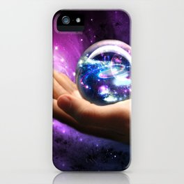 It's all in your hands iPhone Case