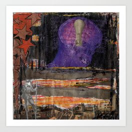 Dark Ideas Art Print