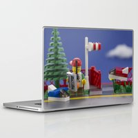 airplanes Laptop & iPad Skins featuring Airplanes by Pedro Nogueira