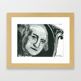 Georgie Framed Art Print