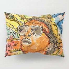 jeffery,poster,lyrics,songs,album,colorful,colourful,portrait,street art,thug Pillow Sham