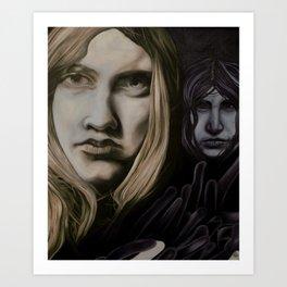 Lonliness creeps  Art Print