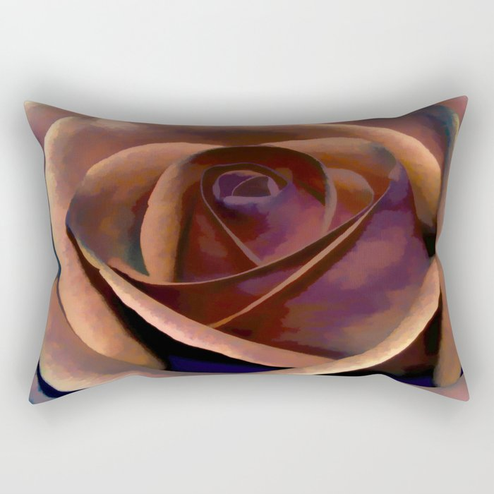 Dreamy Rustic Rose Rectangular Pillow