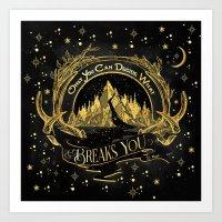 ACOWAR - What Breaks You Art Print