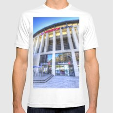Besiktas JK Stadium Istanbul MEDIUM Mens Fitted Tee White