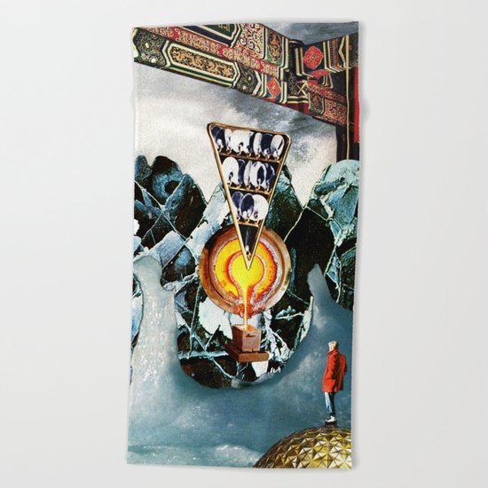 Confabulation Beach Towel