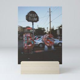 Deep Dallas Mini Art Print